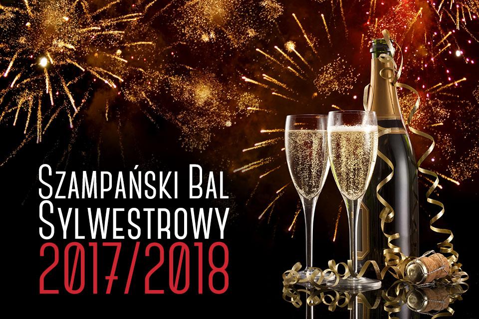 Szampański Bal Sylwestrowy 2017-18 w Artehotel Zamość