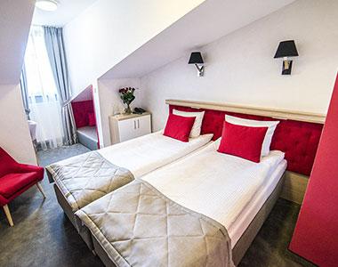 Dwuosobowy pokój nr 318 w hotelu Artehotel Zamość