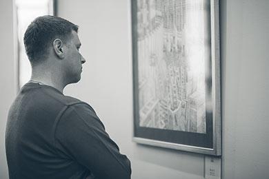 Wernisaż Rysunek i Malarstwo - Dariusz Piekut - ArteHotel Zamość